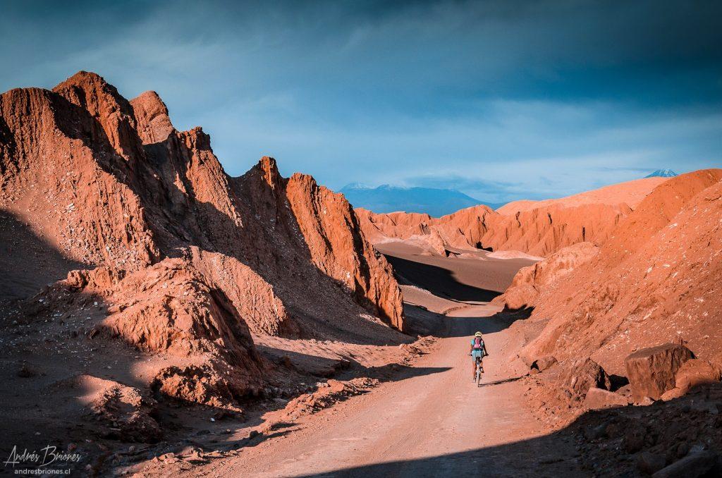 Bicicleta en Valle de Marte