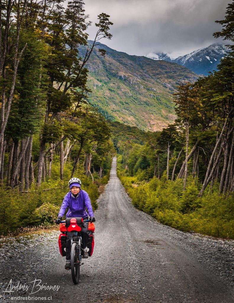 En bicicleta por Aysén